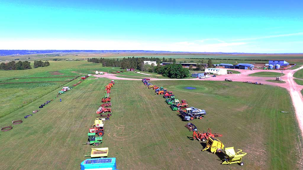 Merkel Ranch Equipment Auction